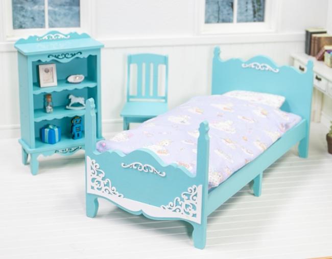 ミニチュアドール家具専門店 麗で販売している家具(キットで作成できます)