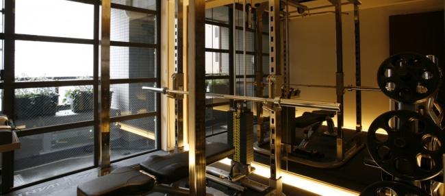 銀座店はトレーニング個室4ブースの大型店舗