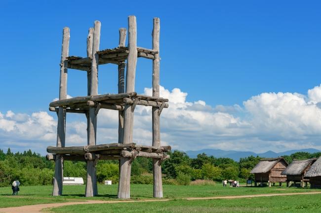 縄文時代を象徴する三内丸山遺跡