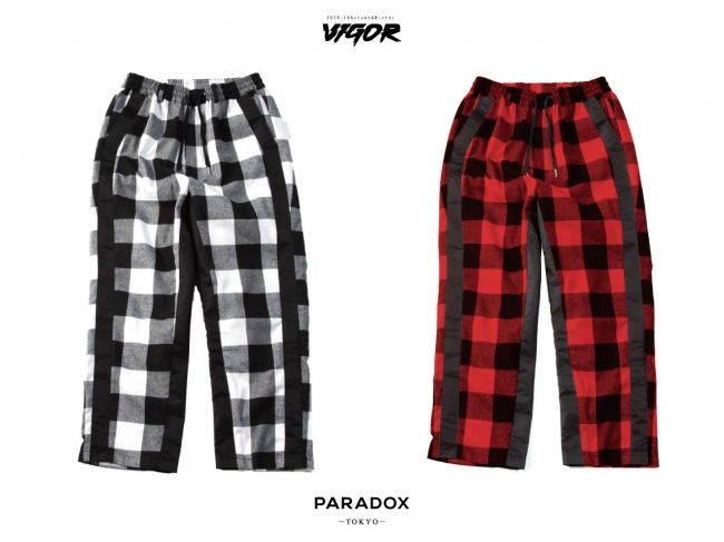 PX14-PT05 CHECK PANTS BLACK CHECK   RED CHECK 14,000YEN(+tax)