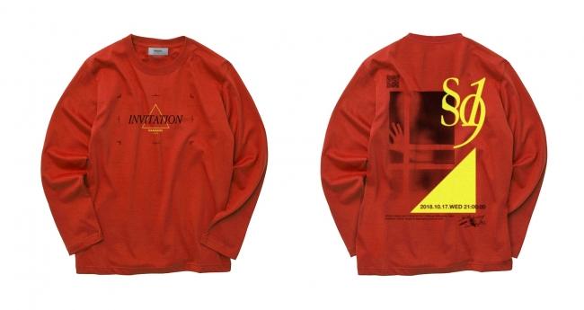 PARADOX TOKYO - INVITATION LS TEE(RED) ¥7,000+tax