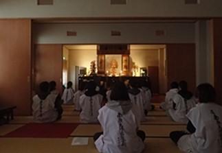 GW中の瞑想の指導の様子