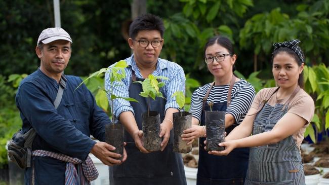 ネスレでコーヒーの開発やコーヒー豆のQグレーダーを担っていたパトム氏が代表を務めるThai Coffee and Cocoa