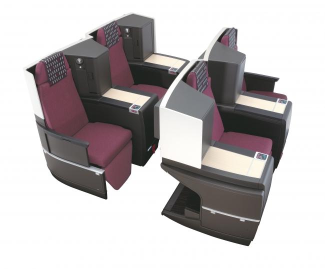 座席一例:JAL SKY SUITEII