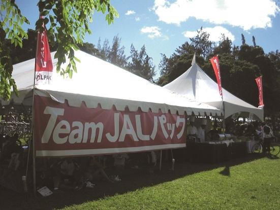 「Team JALパックステーション」
