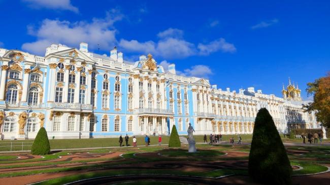 エカテリーナ宮殿/サンクトペテルブルク