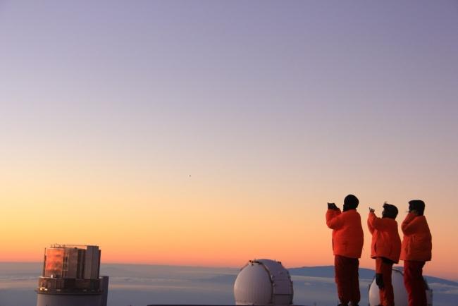 マウナケア山頂・サンセット& 星空観測ツアー 写真提供:ネイチャースクール