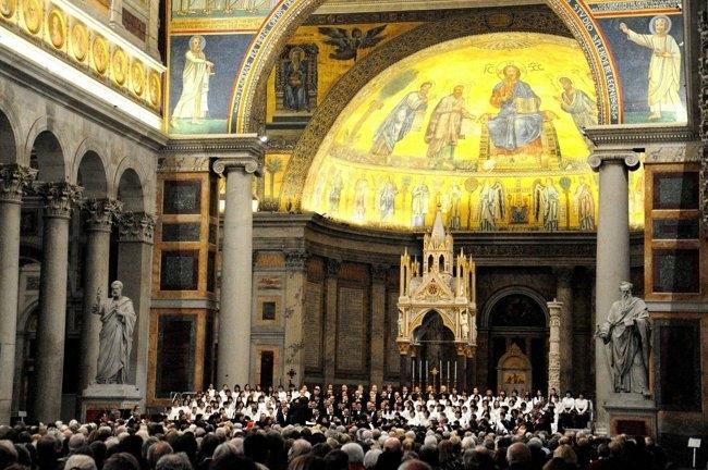 ヴアチカンサンパオロ大聖堂