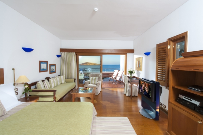 ELOUNDA BEACH HOTEL & VILLAS (DELUXE ROOM SPA SEA VIEW)