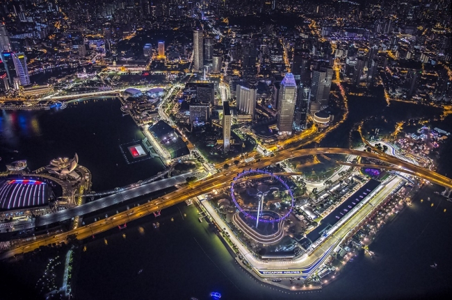 F1サーキット(C)Singapore Tourism Board