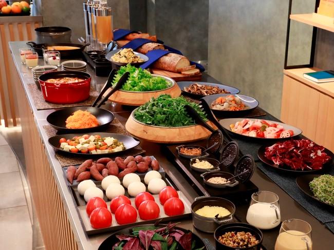 加賀野菜が楽しめる朝食・昼食(イメージ)