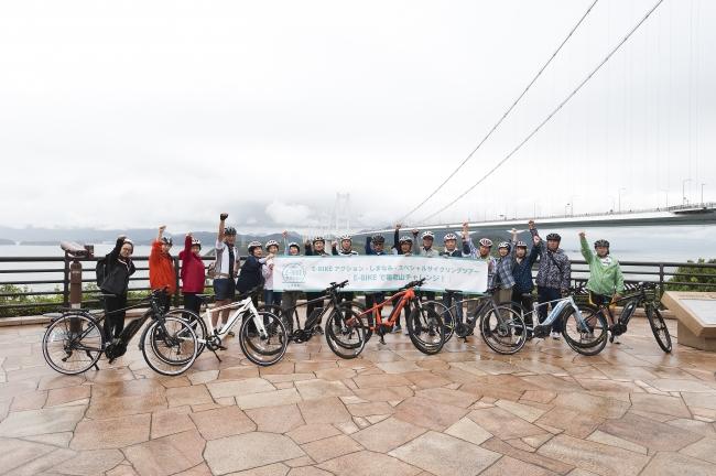 E-BIKEでしまなみ海道をサイクリング(来島海峡展望館)