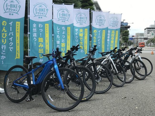 電動アシストが付いたスポーツタイプの自転車、E-BIKE