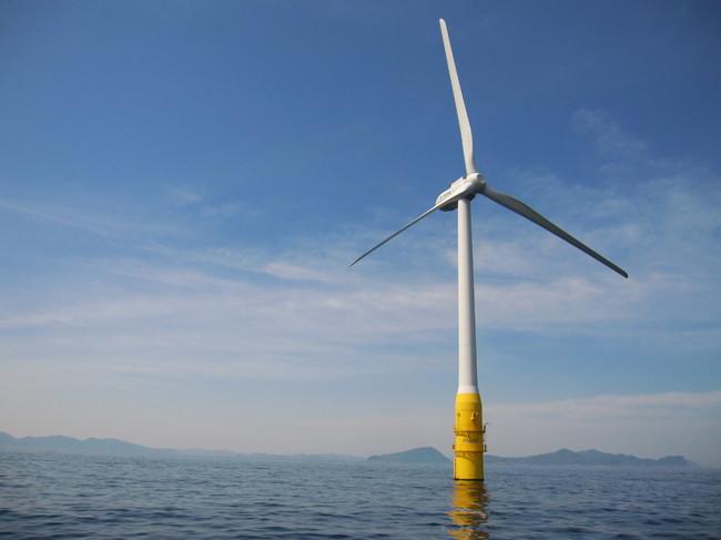 洋上風力発電(はえんかぜ)