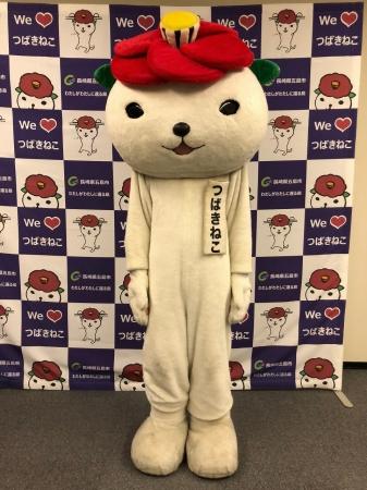 五島市イメージキャラクターつばきねこ