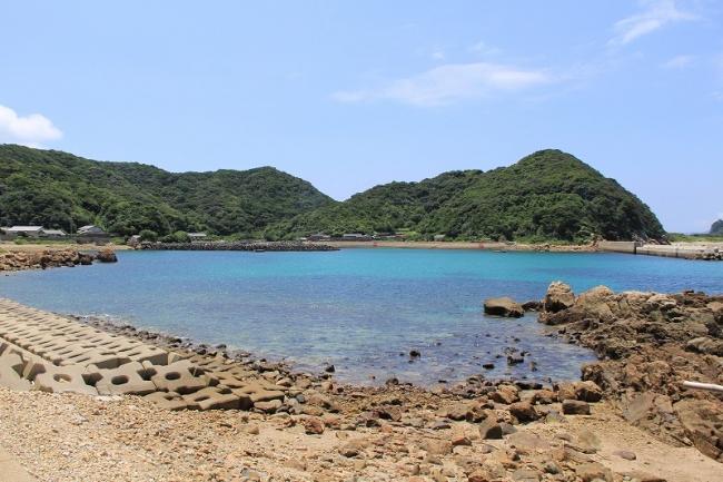 前島 江ノ浦港
