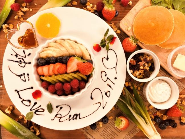 アリストンホテル神戸オリジナルアサイーボール&パンケーキ