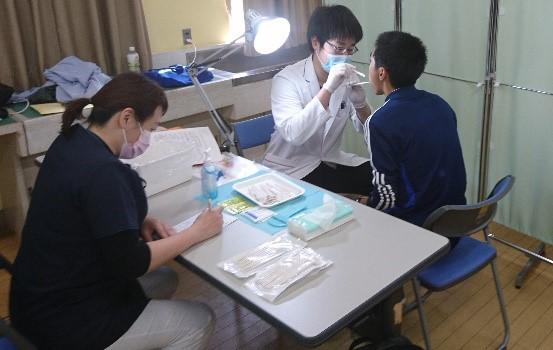 昨年度の歯科検診