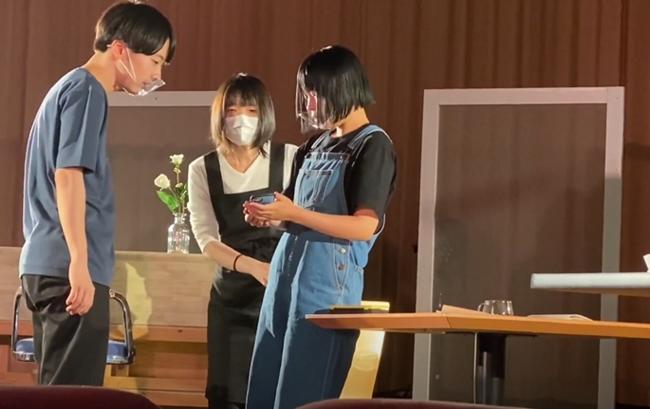 俳優・タレント・ミュージカル科1年生「Make!」 リハーサルの様子