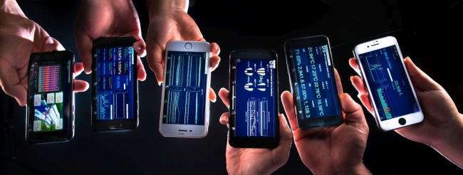 iPhoneで農場の状況をモニタリング