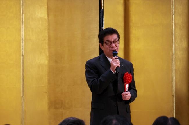 大阪市長 松井一郎氏