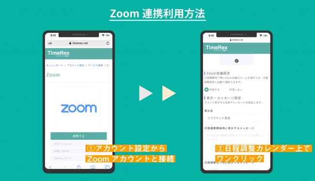 Zoom連携利用手順