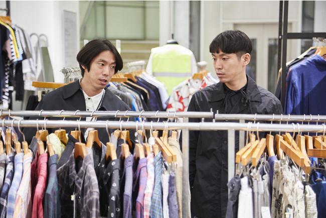 スタイリストの井田正明さん(左)と井田信之さん(右)