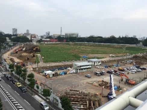 """2020年への記録"""" 「新国立競技場建設 定点観測プロジェクト」2016年5月 ..."""