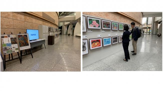 2019年可能性アートプロジェクト展の様子