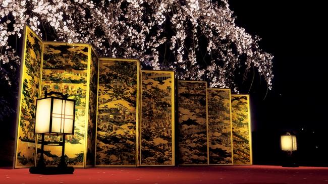 VR作品『洛中洛外図屛風 舟木本』 監修:東京国立博物館 制作:凸版印刷株式会社