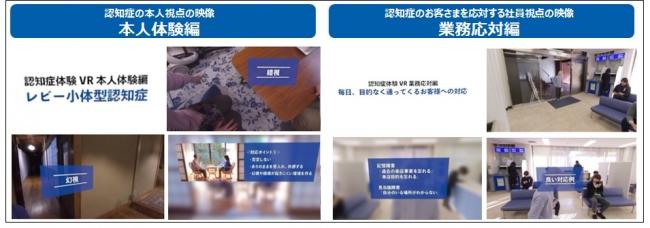 「認知症体験VR」コンテンツのイメージ © Toppan Printing Co., Ltd.