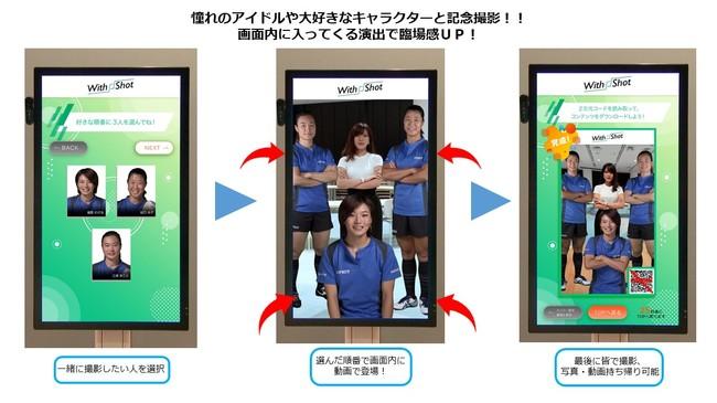 「WithShotTM」の使用イメージ © Toppan Printing Co., Ltd.