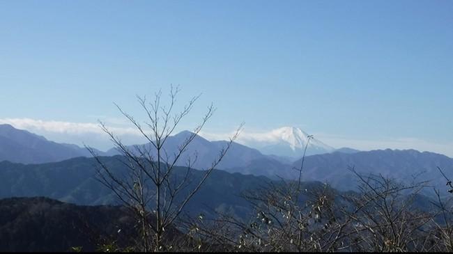 高尾山の山頂からの風景