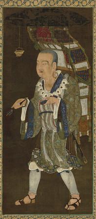 「玄奘三蔵像」(東京国立博物館蔵)