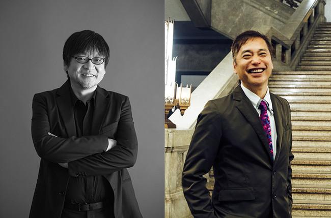 (左)細田守<撮影/神藤剛> (右)松嶋雅人
