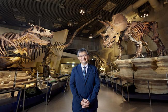 展示室から研究者が講義を実施 ©与古田松市
