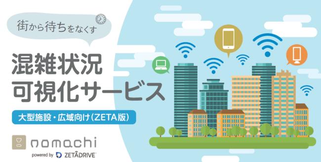 「nomachi(R)」ZETA版のサービスイメージ (C) Toppan Printing Co., Ltd.