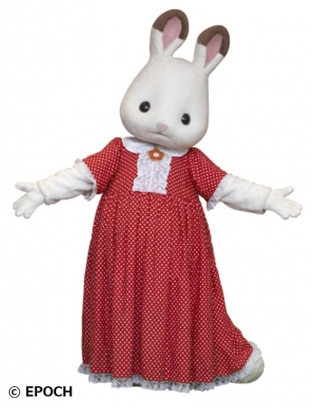 ▲ショコラウサギの女の子