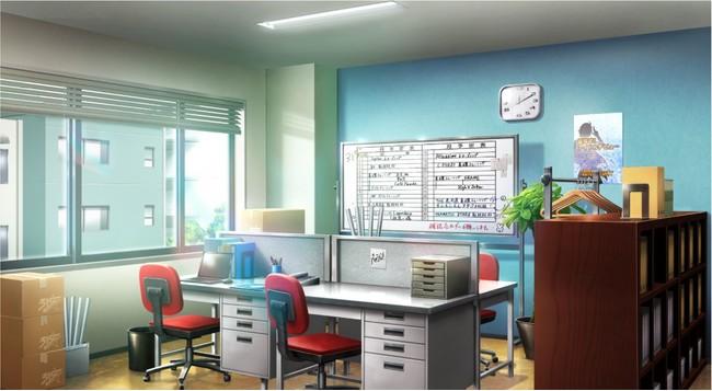 ▲「315プロダクション」の事務所が目の前に!!