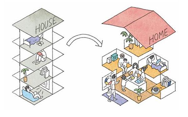 未来の集合住宅を考えるプロジェクト「LIVING STYLE 2025 住まいの未来」