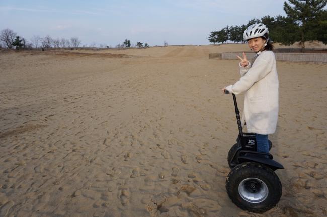 日本発 砂丘セグウェイ