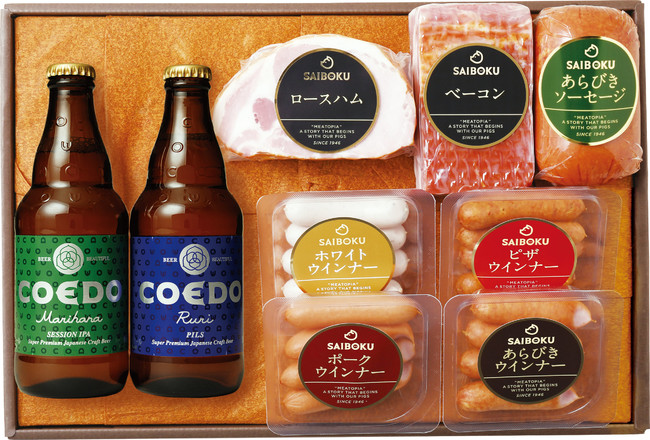 SAIBOKUの「サイボク×コエドビールセット」