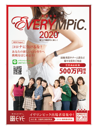 イヴリンピックポスター