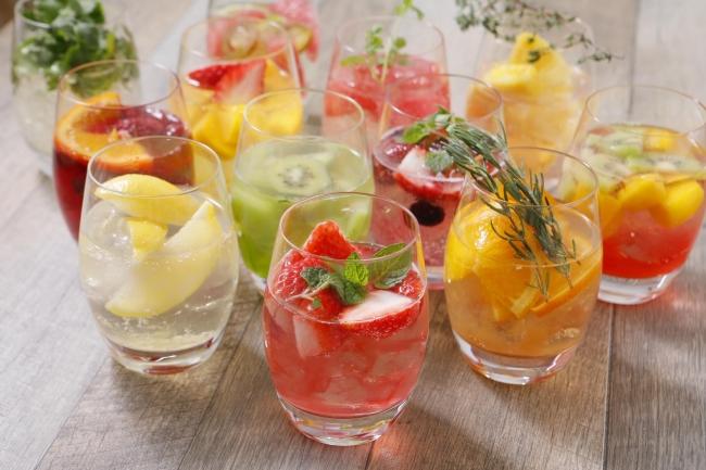 フーディグラスは18種類
