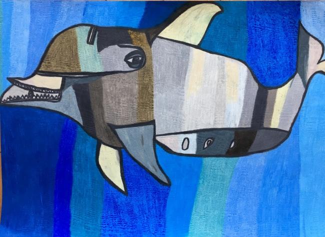 ANNAさんの作品「イルカ」