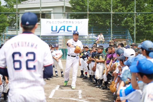 5月12日 UACJ野球教室
