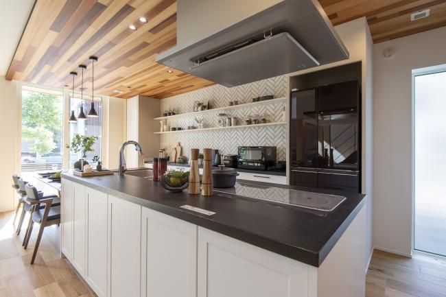 おしゃれな雰囲気のキッチン
