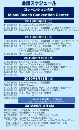 (株)日本旅行 《ツアーパンフレット》 ・マイアミ大会ツアー(PDF版)より