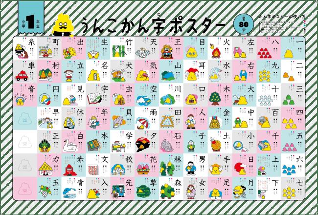 漢字ポスター(1・2・3年)