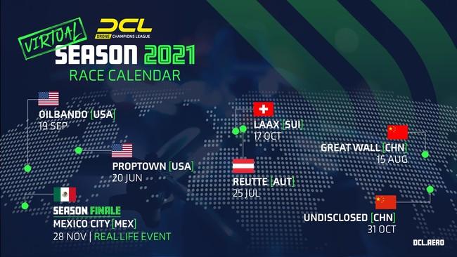 DCL21 レースカレンダー